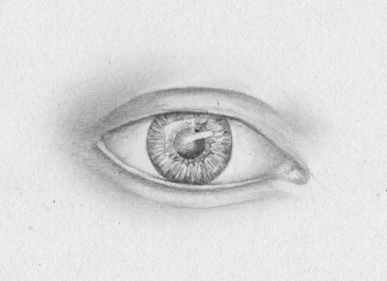 how to draw eyes step 10
