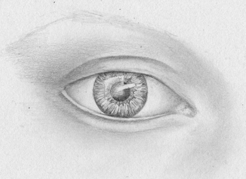 how to draw eyes step 11