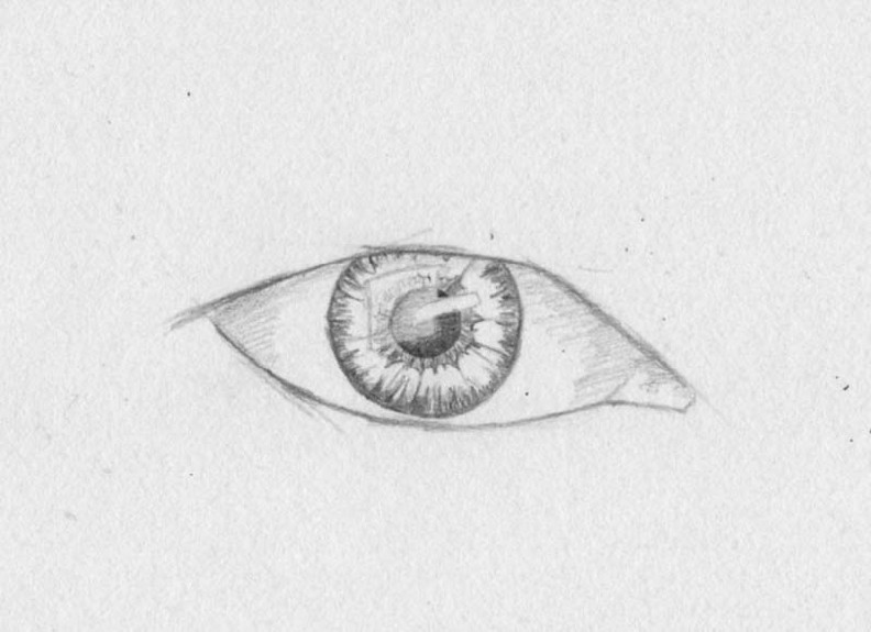 how to draw eyes step 5