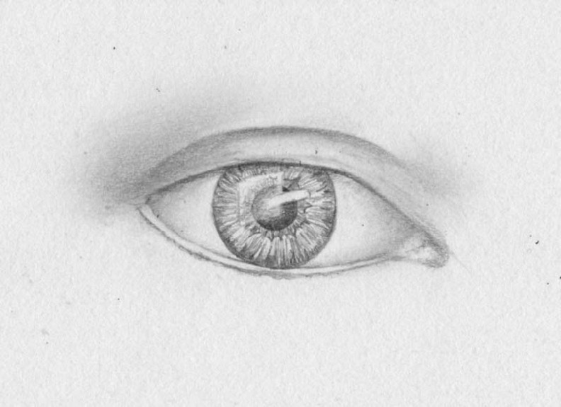 how to draw eyes step 9